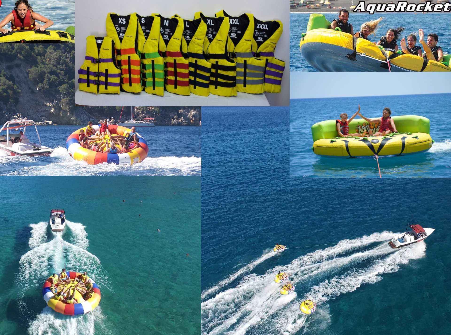 Watersport oprema - Twister, Aquaflyer, Banana, Tube - Hrvatska