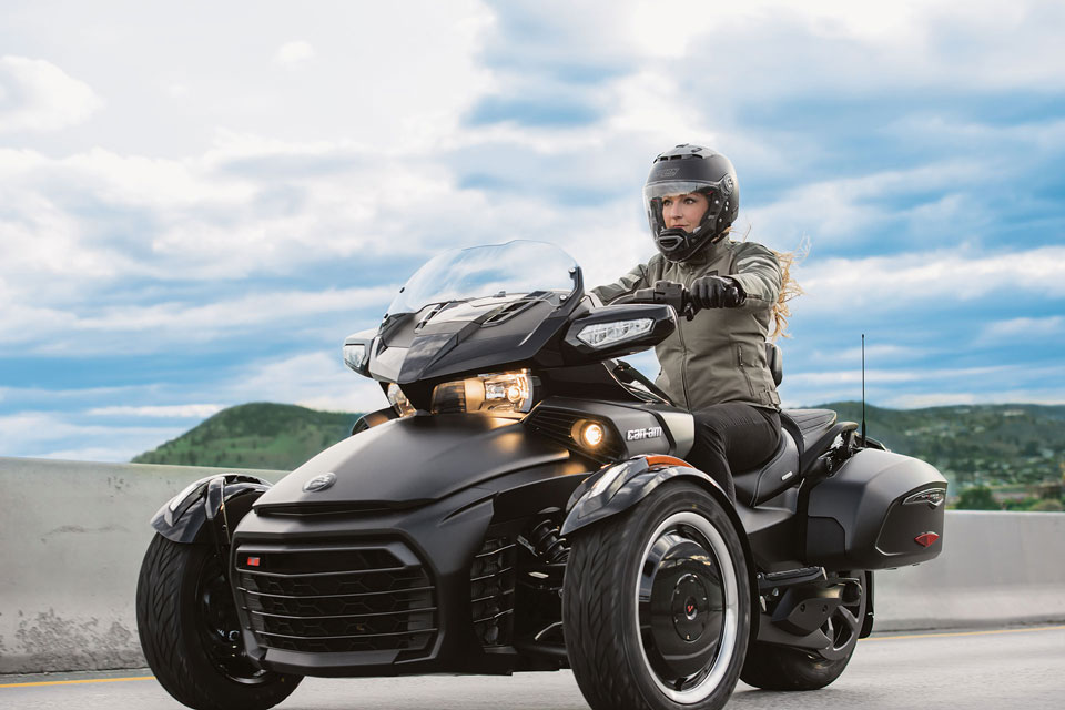 Rent can am Spyder Roadster super fast vehicle, Krk - Croatia