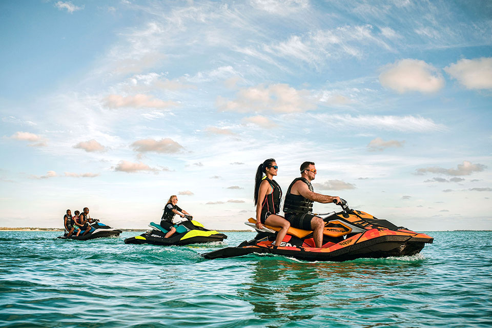 Jet ski safari for groups - rent more jet skis