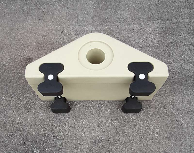 RD HEAVY PIPE BRACKET SET