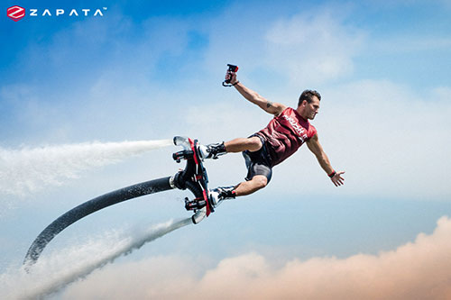 Zapata Racing Flyboard, Hoverboard, Jet Pack