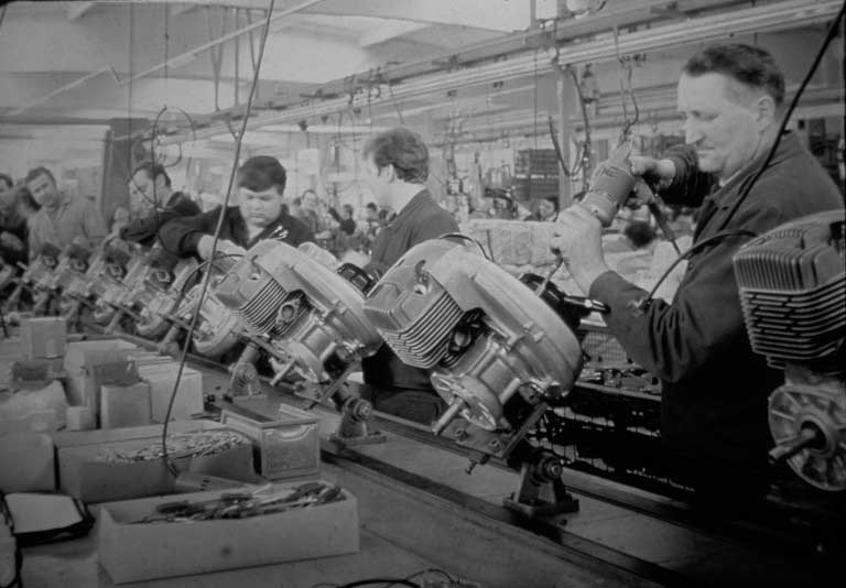 BRP - Producing Rotax engines in old days