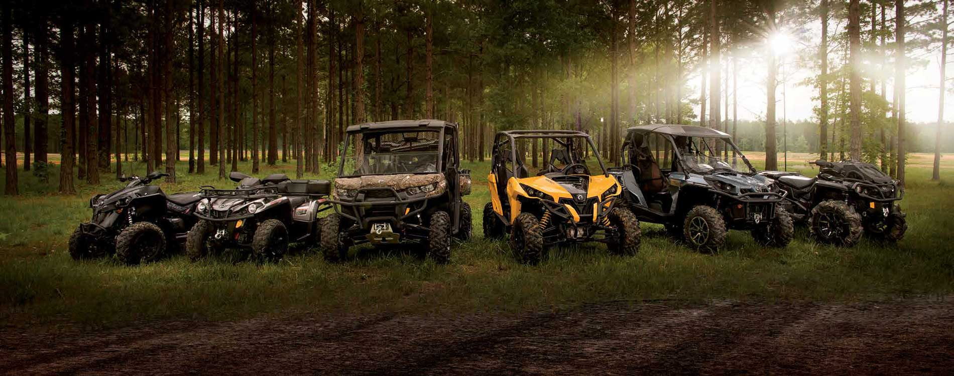 The latest can am quad models every year (2017) | OtoNautika