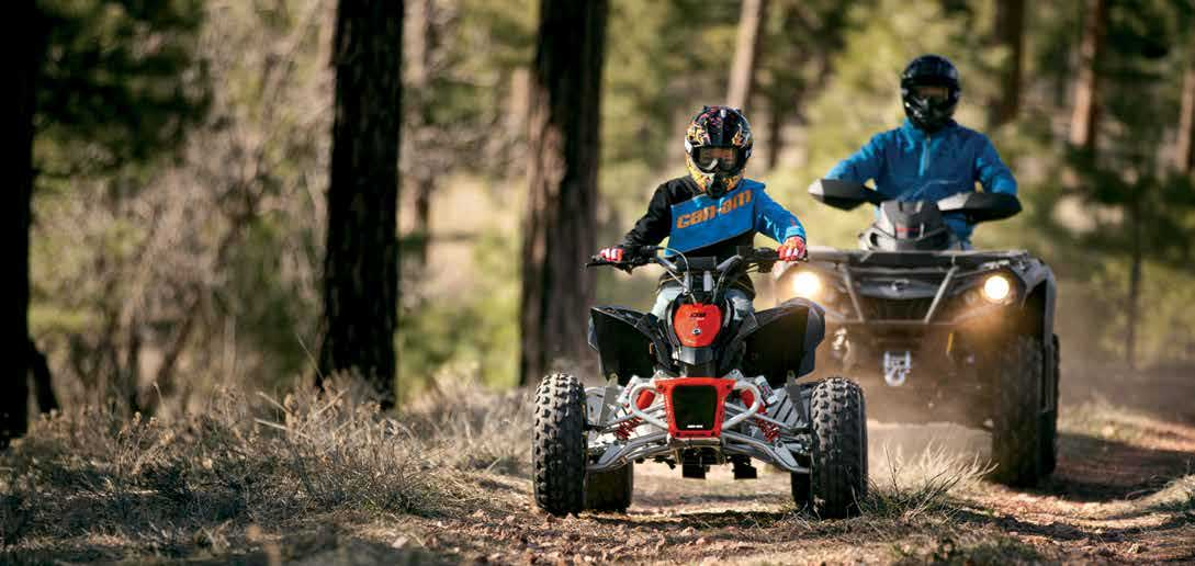 Youth Can Am quad - ATV off-road