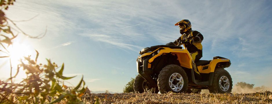 Rent Can-Am ATV off-road