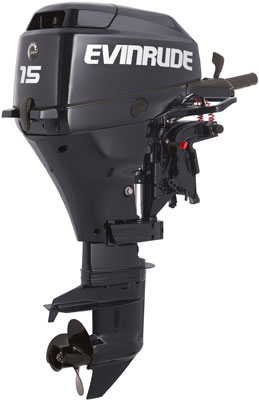 Outboard engine Evinrude Portable 15 horse powers