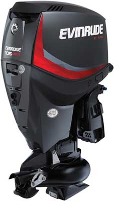 Outboard engine Evinrude Jet 105 horse powers