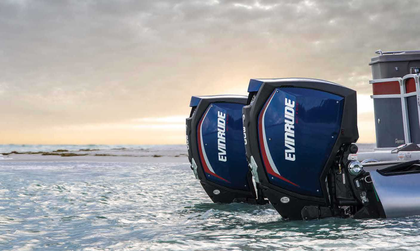 The latest models of Evinrude outboard engines each year (2017) | OtoNautika