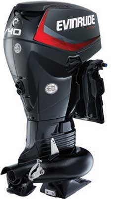 Outboard engine Evinrude Jet 40 horse powers