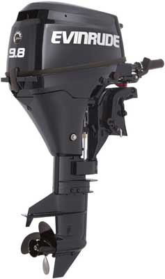 Evinrude Portable - Outboard engine - 9,8 horse powers