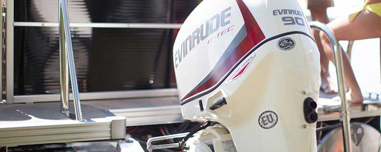 Evinrude Poonton outboard motors for boats