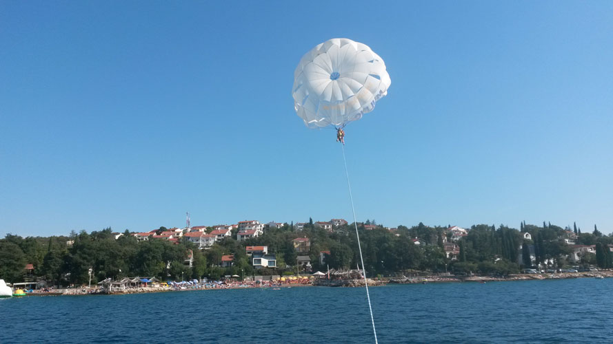 Water sports - Parasailing | Njivice - Krk