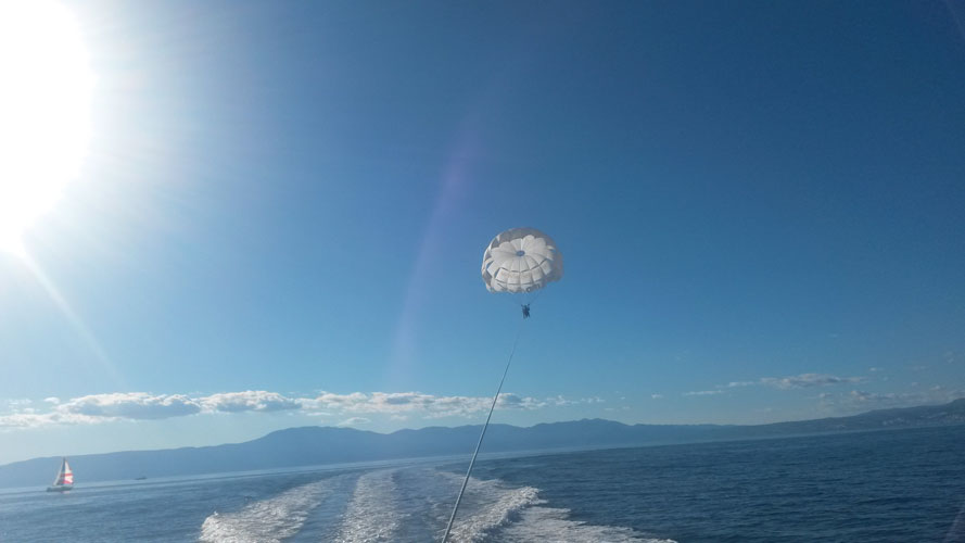 Parasailing | Water sports | Njivice - Krk