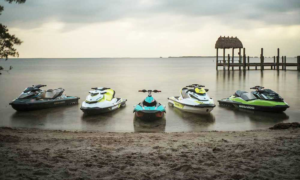 Latest sea doo jet ski rental services in Njivice, island Krk