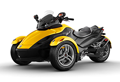 Rent Can-Am Spyder RS Roadster