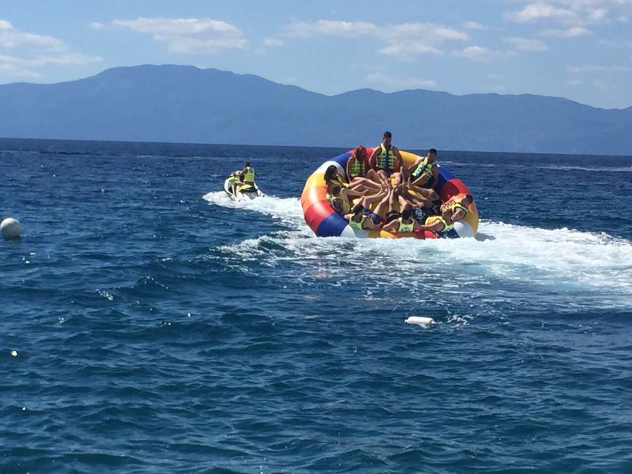 Twister, Water sports u Njivicama na otoku Krku