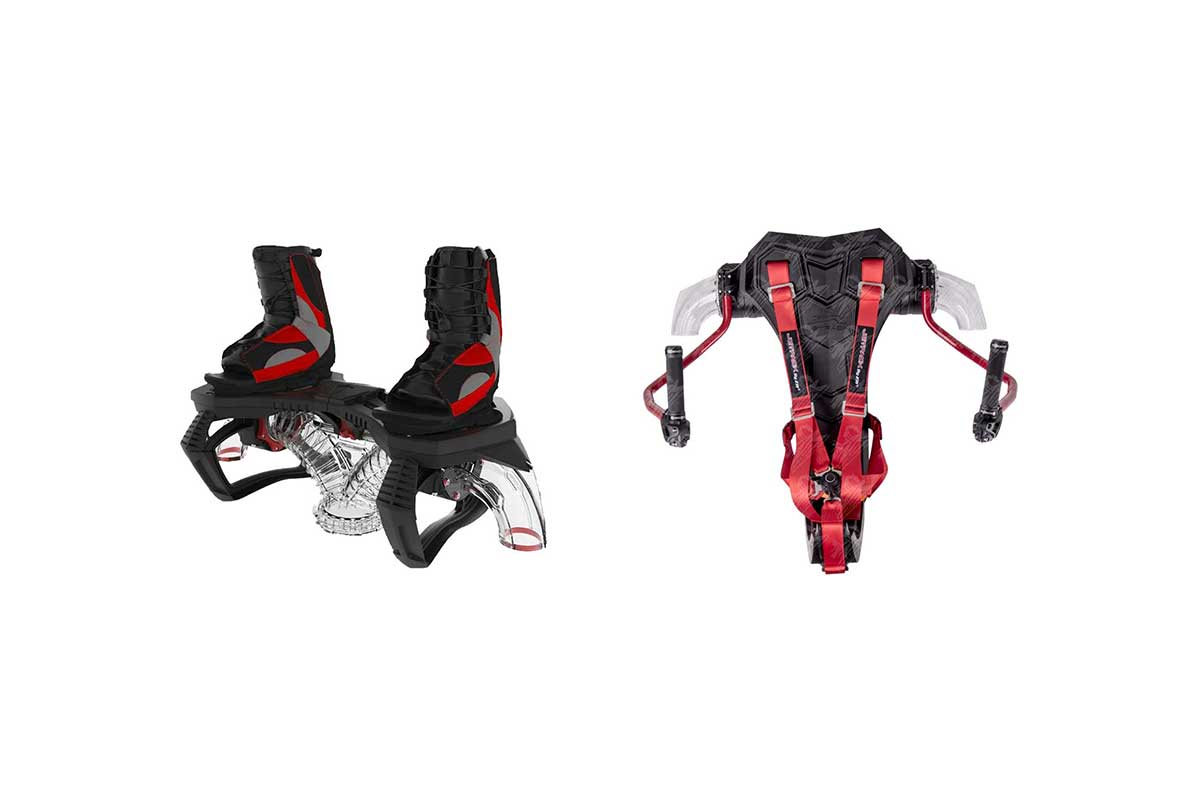 Zapata bundle - Flyboard Pro Series, Jet Pack - ZR04000